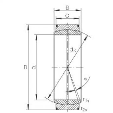 FAG Radial spherical plain bearings - GE950-DO
