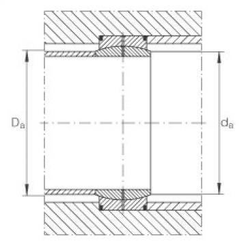 FAG Radial spherical plain bearings - GE850-DO