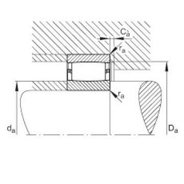 FAG محامل حلقية - C40/710-XL-M