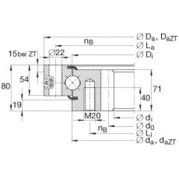 FAG أربعة محامل الاتصال نقطة - VSI250955-N