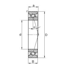 FAG محامل المغزل - HS71917-C-T-P4S