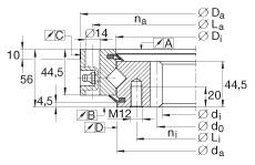 FAG عبرت محامل - XSI140744-N