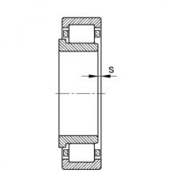FAG محامل أسطوانية - NJ317-E-XL-TVP2