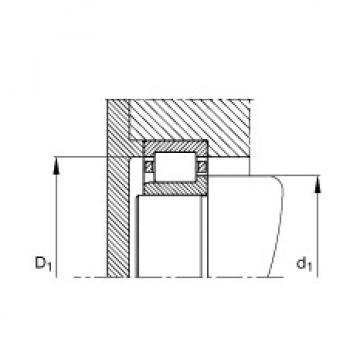 FAG محامل أسطوانية - NJ417-XL-M1