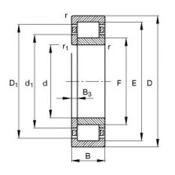 FAG محامل أسطوانية - NUP2217-E-XL-TVP2
