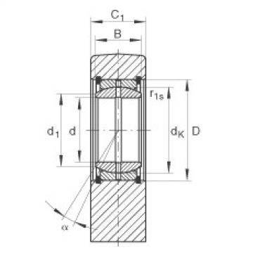FAG Hydraulic rod ends - GF80-DO