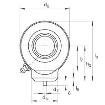 FAG Hydraulic rod ends - GK80-DO