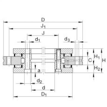FAG Axial/radial bearings - YRT850