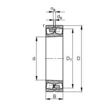 FAG محامل كروية - 241/710-B-K30-MB