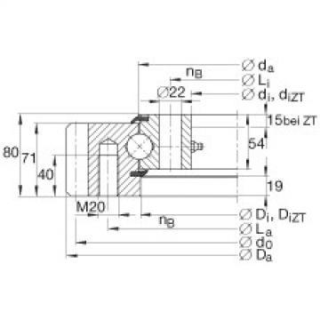 FAG أربعة محامل الاتصال نقطة - VSA250755-N